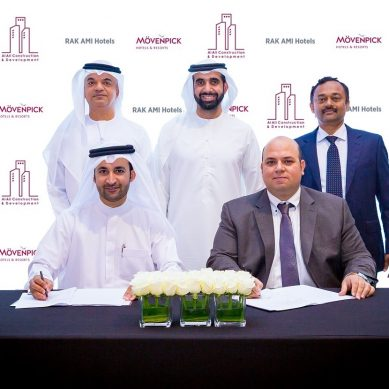 Mövenpick Resort Al Marjan Island is underway