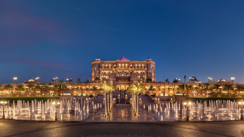 Emirates Palace won the GCC Best Brand Award