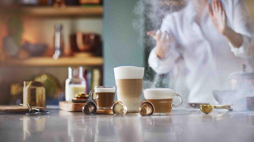 Nespresso new barista line