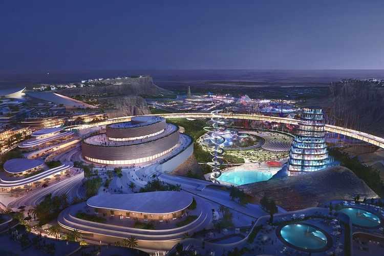 Qiddiya project in Riyadh