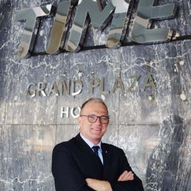 TIME Grand Plaza Hotel's new GM