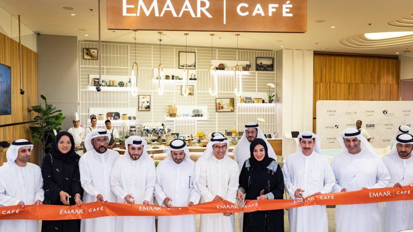Emaar opens Emaar Café in partnership with  Dubai Land Department
