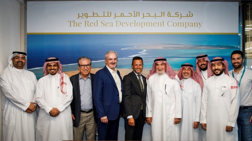 Ground-work for Coastal Village at the Red Sea Project to kick off