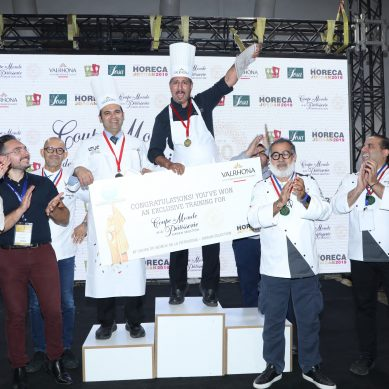 HORECA Jordan celebrates the winners of 'The World Pastry Cup'