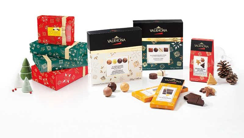 Valrhona's committed festive season experience