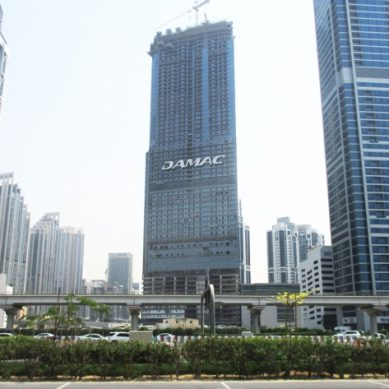 DAMAC tops off Paramount Tower Hotel and Residences