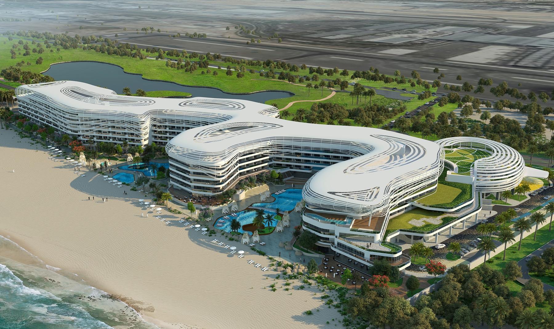 Rendering of The St. Regis Al Mouj Muscat Resort