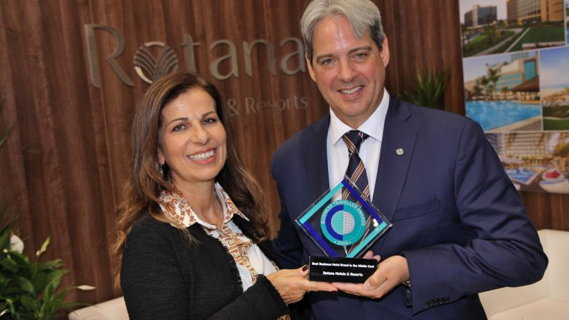 Rotana crowned 'Best Business Hotel Chain in the Middle East'