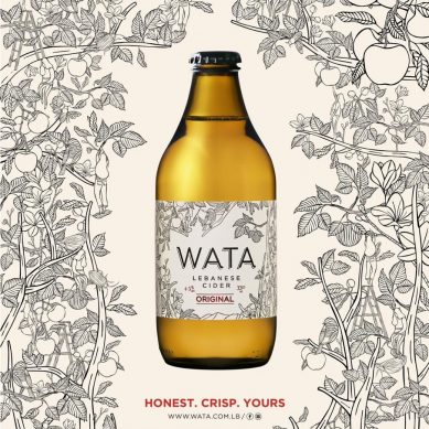 WATA, Lebanon's innovative apple cider brand