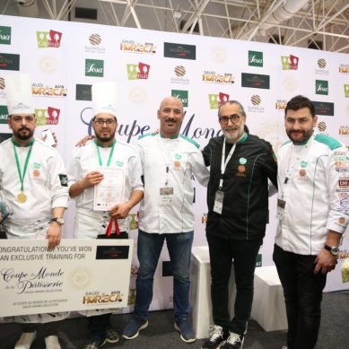 Saudi HORECA's National World Pasty Cup winners crowned