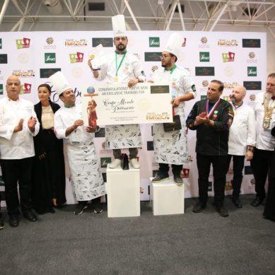 Coupe du Monde de la Pâtisserie at HORECA Kuwait 2020