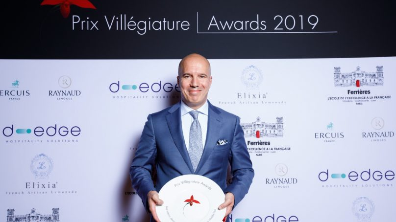 Le Gray Beirut wins the Prix Villegiature for Best Hotel Architecture