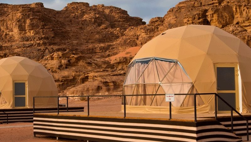 Glamping Luxury Gets in Tents