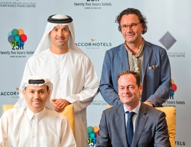 Dubai World Trade Centre and AccorHotels debut 25hours Hotels