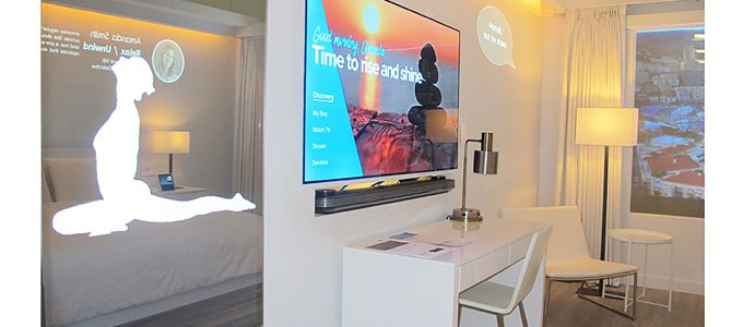 Marriott International launches the IoT hotel room of the future