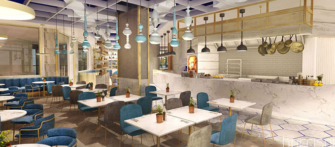 Carluccio's opens its first licensed restaurant in Dubai