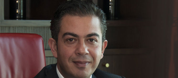 Ayman Gharib is the new MD of Raffles Dubai and Sofitel Dubai Wafi