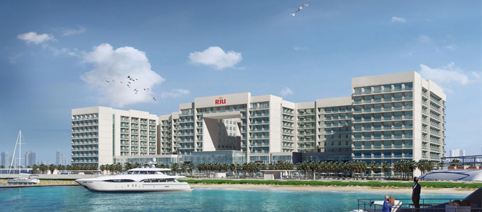 Nakheel and RIU award construction contract