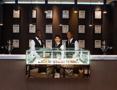 The first Dilmah Silver Jubilee Gourmet in a Middle East Hotel opens
