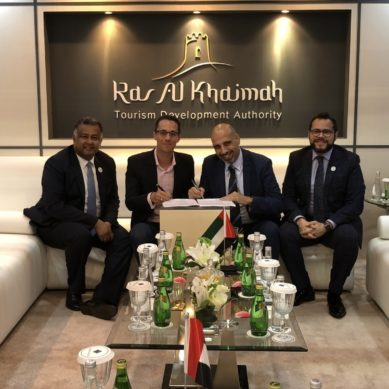 Golden Tulip signs an MoU with Ice Land Water Park under endorsement of RAKTDA