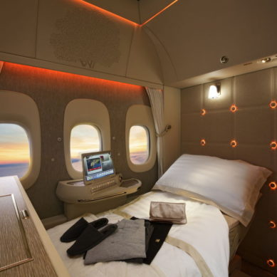 Emirates to debut its new First Class Private Suite for the first time at ATM