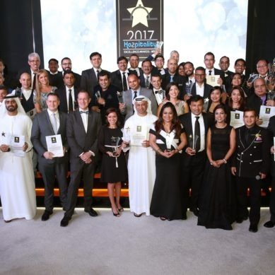 The fourth Middle East Hospitality Excellence Awards 2018 organized by Hozpitality Group is loading