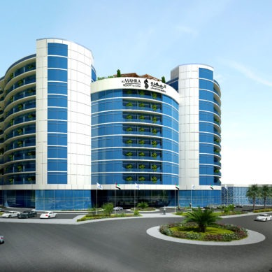 Luxury hotel units available for purchase in Bitcoin at Al Mahra Resort by Cristal in Ras Al Khaimah