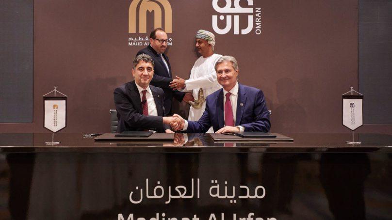 OMRAN and Majid Al Futtaim to develop USD 13 billion Madinat Al Irfan