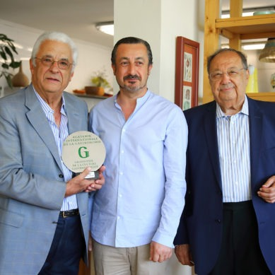 Kamal Mouzawak awarded the Grand Prix AIG de la Culture Gastronomique 2018