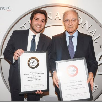 Domaine des Tourelles named as Great Value Champion Red at IWC 2018