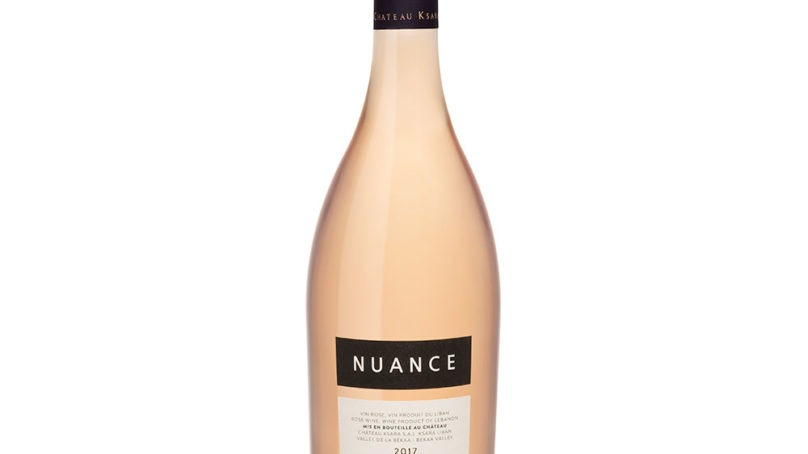 A new premium rosé, Nuance, launched by Château Ksara