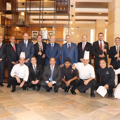 Intercontinental Jordan's restaurants recognized at the World Luxury Restaurant Awards