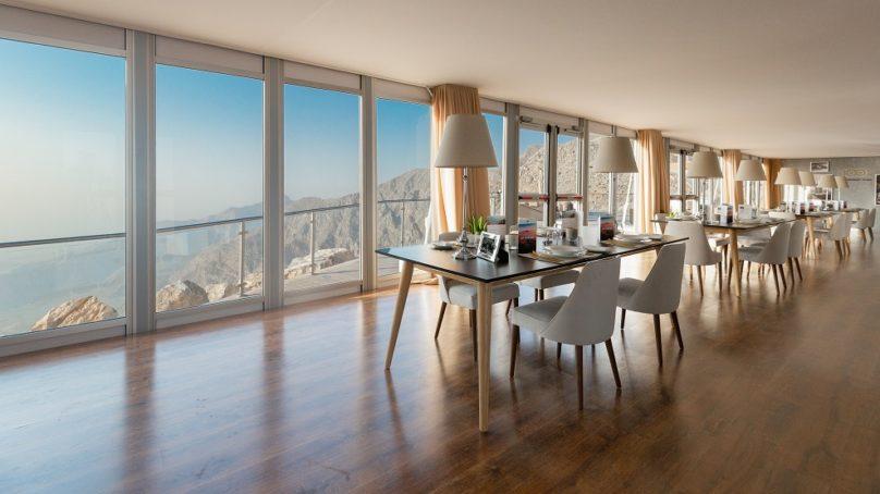 The Peak of Luxury, a Bentley restaurant opened in Ras Al Khaimah for seven days