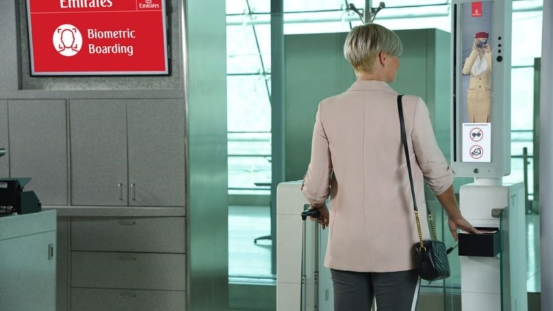 Emirates to launch the first integrated 'biometric path'