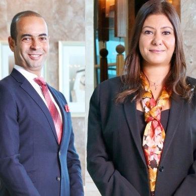 Two new directors at Waldorf Astoria Dubai Palm Jumeirah
