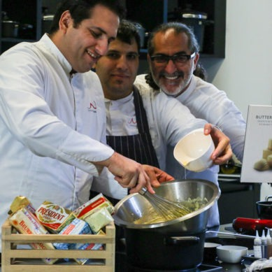 Butter of Europe at the Maroun Chedid Cooking Academy
