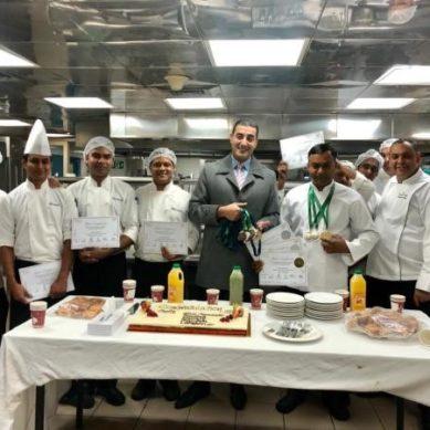 Copthorne Kuwait City's hotel culinary specialists win 8 awards at HORECA Kuwait 2019