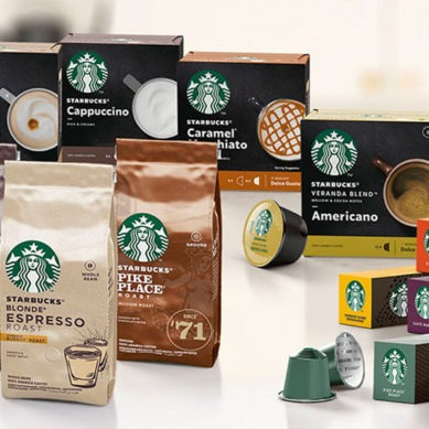 Nestlé announces global launch of a new Starbucks home products range