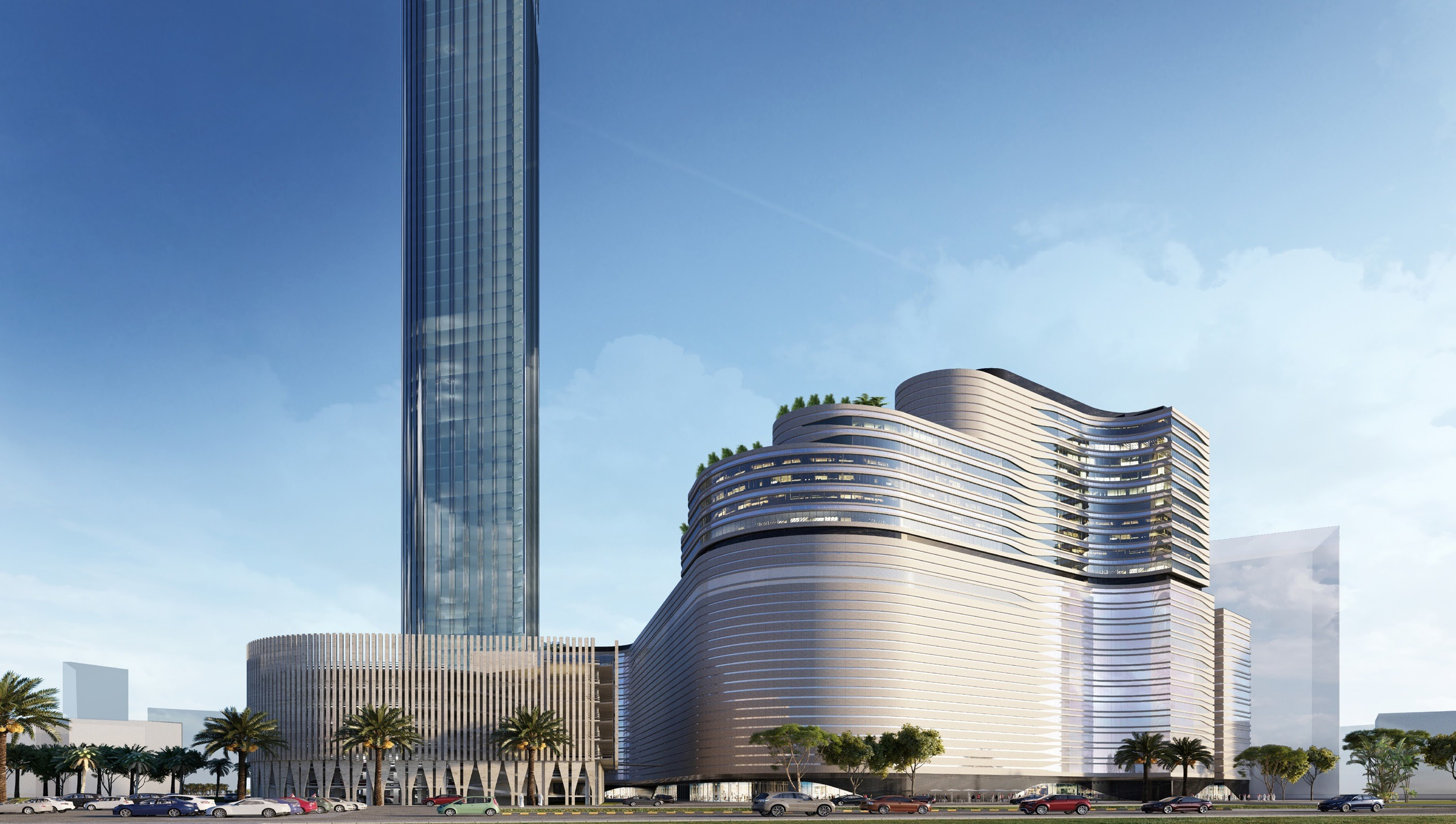 Kuwait City launches largest commercial-hotel project
