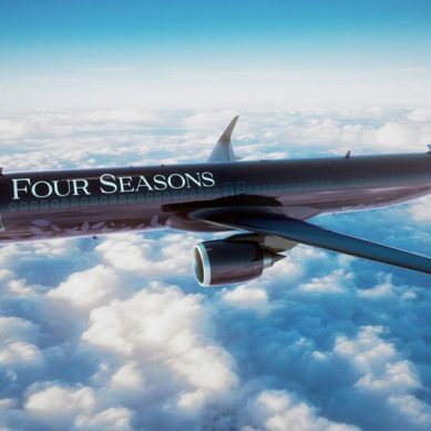 Four Seasons offers guests new private jet option