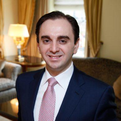 Erden Kendigelen is the new multi-property GM for The St. Regis Amman and Al Manara