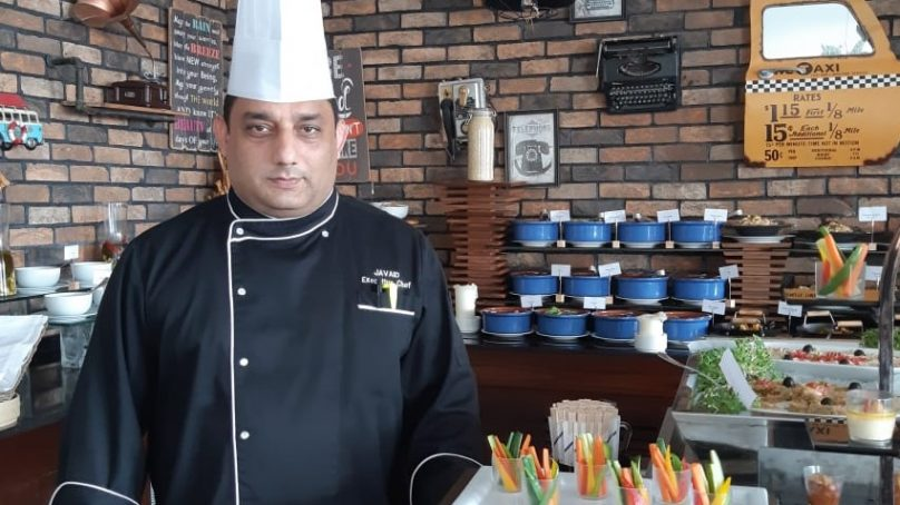 Javaid Ahmed is the new Head Executive Chef at Central Hotels