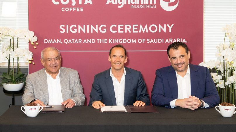 Costa Coffee and Alghanim Industries to expand in Saudi, Qatar, and Oman