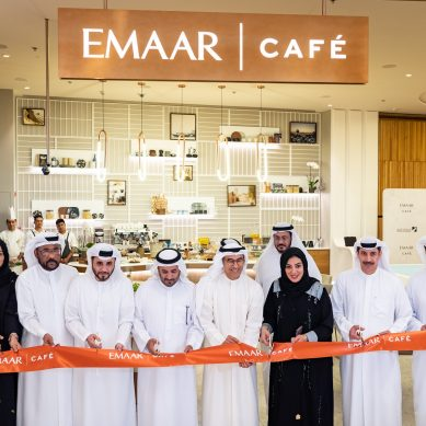 Emaar opens Emaar Café in partnership with  Dubai Land Department