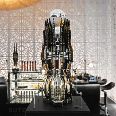 A coffee machine unlike any other
