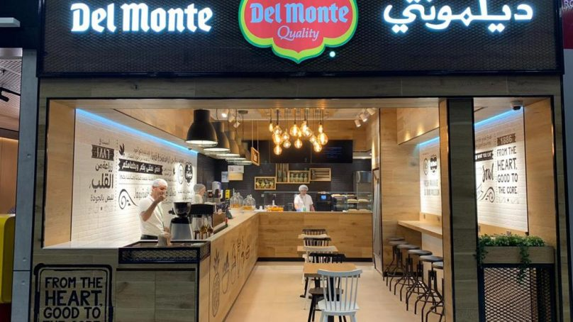 First Del Monte café debuted at Kuwait International Airport's T4