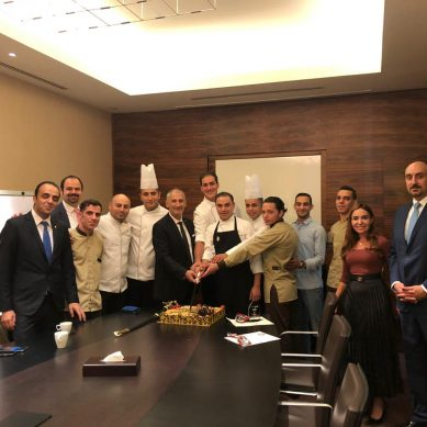 HORECA Jordan 2019 awards InterContinental Hotel