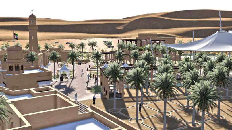 Al Badayer Oasis welcomes guests at the heart of Al Badayer Desert in Sharjah