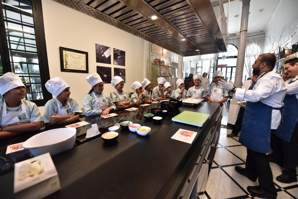 Four hundred kids participate in cooking events across the Middle East