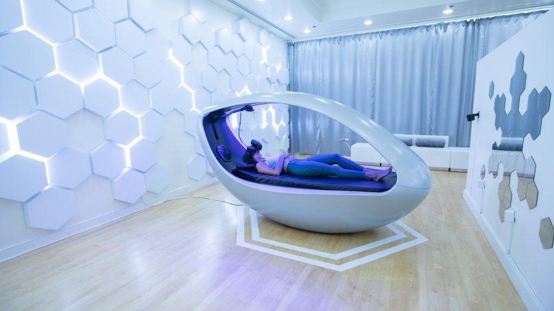 World's first multi-sensory VR wellness experience